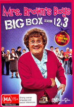Mrs Brown's Boys: Seasons 1 - 3 and 3 Christmas Specials