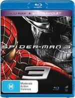 Spider-Man 3 (Blu-ray/UV)