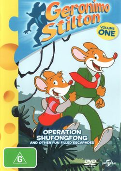 Geronimo Stilton: Volume 1 (Operation Shufongfong and other fun filled Escapades)