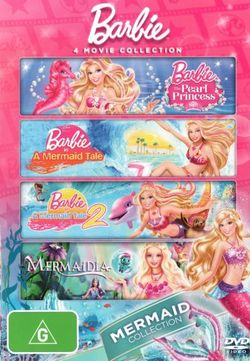 Barbie: 4 Movie Collection - Mermaid Collection (The Pearl Princess / A Mermaid Tale / A Mermaid Tale 2 / Mermaidia)