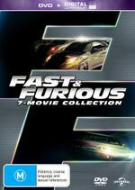 Fast and Furious (7-Movie Collection) (DVD/UV)