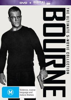 Bourne: The Ultimate 5-Movie Collection (Bourne Identity (2002) / Bourne Supremacy / Bourne Ultimatum / Bourne Legacy / Jason Bourne)
