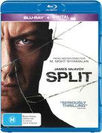 Split (2017) (Blu-ray/UV)