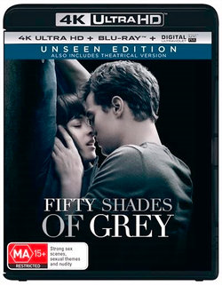 Fifty Shades of Grey (Unseen Edition) (4K UHD/Blu-ray/UV)