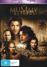 The Mummy Returns  (DVD/UV)