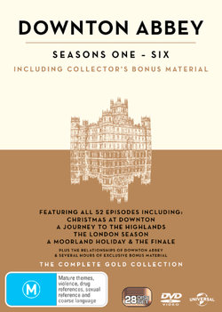 Downton Abbey: Seasons 1 - 6 (The Complete Gold Collection)