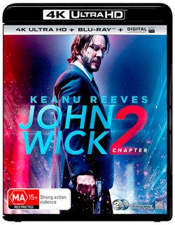 John Wick: Chapter 2 (4K UHD/Blu-ray/UV)