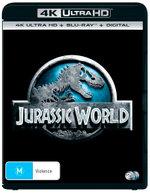 Jurassic World (4K UHD/Blu-ray/UV)