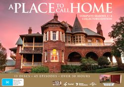 A Place To Call Home: Season 1 - 4 (Including Book) (Limited Stock)