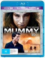 The Mummy 3D (2017) (3D Blu-ray/Blu-ray/UV)
