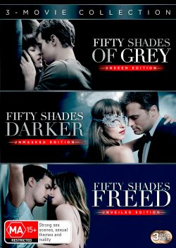 Fifty Shades of Grey (Unseen Edition) / Fifty Shades Darker (Unmasked Edition) / Fifty Shades Freed (Unveiled Edition) (3-Movie Collection)