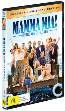 Mamma Mia!: Here We Go Again (Includes Sing-Along Edition)