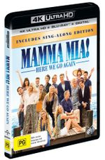 Mamma Mia!: Here We Go Again (Includes Sing-Along Edition) (4K UHD/Blu-ray/UV)