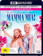 Mamma Mia!: The Movie (4K UHD/Blu-ray/Digital Copy)