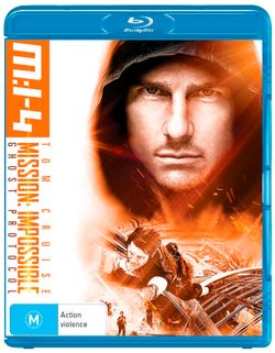 M:I-4 (Mission: Impossible - Ghost Protocol) (BONUS Iron On Transfers)