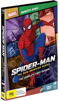 Spider-Man: The New Animated Series - Season 1 (Marvel Animated Range)