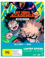 My Hero Academia: Season 2 - Part 2 (Blu-ray/DVD)