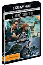 Jurassic World: 2-Movie Collection (Jurassic World: Fallen Kingdom / Jurassic World) (4K UHD / Blu-ray / UV)