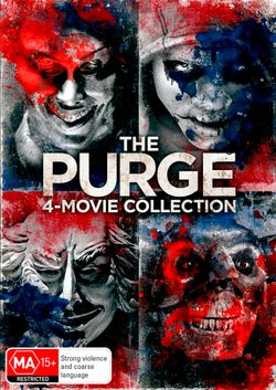 The Purge: 4-Movie Collection (The Purge / The Purge: Anarchy / The Purge: Election Year / The First Purge)