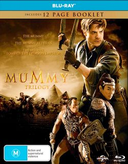 The Mummy Trilogy (The Mummy (1999) / The Mummy Returns / The Mummy: Tomb of the Dragon Emperor) (Includes 12 Page Booklet)