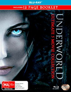 Underworld: Ultimate 5 Movie Collection (Underworld / Evolution / Rise of the Lycans / Awakening / Blood Wars) (Includes 12 Page Booklet)