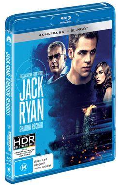 Jack Ryan: Shadow Recruit (4K UHD / Blu-ray)