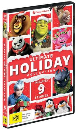 Ultimate Holiday Collection: (Trolls/Shrek the Halls/Donkey's Caroling/Merry Madagascar/The Madagascar Penguins/Dragons: Gift Night Fury/Kung Fu Panda