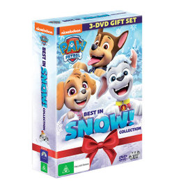 PAW Patrol: Best in Snow Collection (PAW Patrol: Meet Everest / PAW Patrol: Pups Save Christmas / PAW Patrol: Snow Patrol)