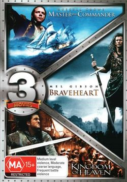 Kingdom of Heaven / Master and Commander / Braveheart (Gift Triple)
