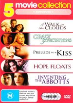 A Walk in the Clouds / Great Expectations (1998) / Hope Floats / Inventing the Abbotts / Prelude to a Kiss (5 Discs) (Romance)