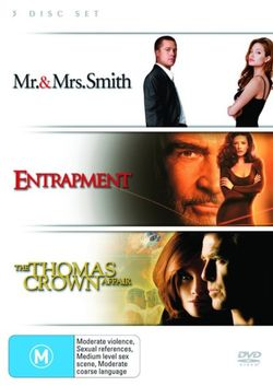 Mr & Mrs Smith / Entrapment / Thomas Crown Affair (1999) (3 Disc Set)
