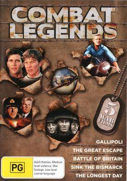 Combat Legends: (Gallipoli / The Great Escape / Battle of Britain / Sink the Bismarck / The Longest Day)