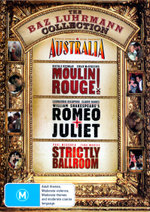 Australia / Moulin Rouge / Romeo and Juliet (1996) / Strictly Ballroom (Baz Luhrmann Collection) (4 Discs)