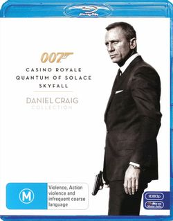 Daniel Craig Triple Pack (Casino Royale/Quantum of Solace/Skyfall) (007)