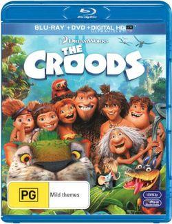 The Croods (Blu-ray/DVD/UV)
