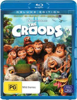 The Croods (3D-Blu-ray/Blu-ray/DVD/UV)