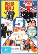 Best of British Comedy 5-Pack (The Full Monty / The History Boys / Four Weddings and a Funeral / A Fish Called Wanda / The Best Exotic Marigold Hotel)