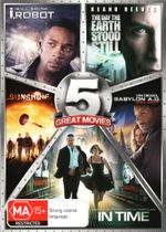 Sci-Fi 5-Pack (I, Robot / The Day the Earth Stook Still / Sunshine / Babylon A.D.: Raw and Uncut / In Time)