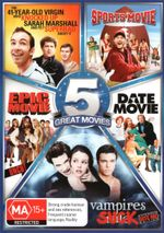 Spoof 5-Pack (The 41-Year-Old Virgin who Knocked Up Sarah Marshall and Felt Superbad About It/Sports Movie/Epic Movie - Uncut/Date Move/Vampires Suck)