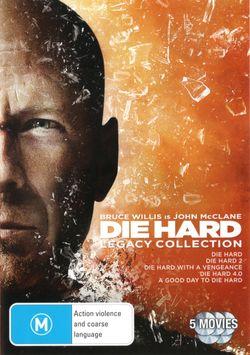 Die Hard Legacy Collection (Die Hard / Die Hard 2 / Die Hard with a Vengeance / Die Hard 4.0 / A Good Day to Die Hard)