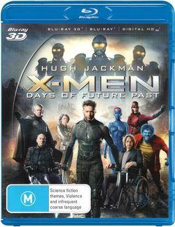 X-Men: Days of Future Past (3D Blu-ray/Blu-ray/UV)