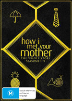 How I Met Your Mother: The Whole Story - Season 1-9 (28 Disc)