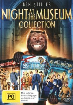 Night at the Museum Collection (Night at the Museum/Night at the Museum: Battle of the Smithsonian/Night at the Museum: Secret of the Tomb)