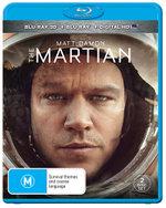 The Martian (3D Blu-ray/Blu-ray/Digital HD)