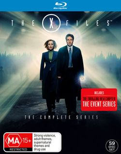 The X-Files: The Complete Series (Seasons 1 - 9 / Fight the Future / I Want to Believe / The Event Series)