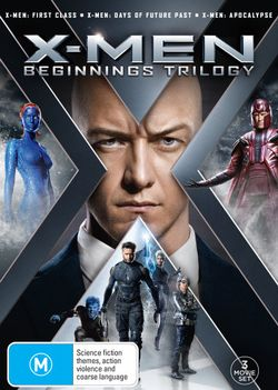 X-Men: Beginnings Trilogy (X-Men: First Class/X-Men: Days of Future Past/X-Men: Apocalypse)