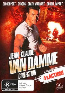 Jean-Claude Van Damme Collection (Bloodsport / Cyborg / Death Warrant / Double Impact)