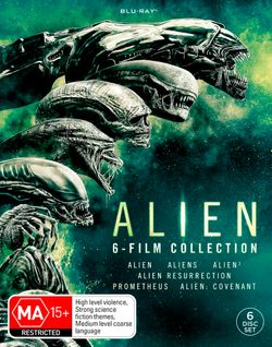 Alien: 6-Film Collection (Alien / Aliens / Alien 3 / Alien Resurrection / Prometheus / Alien: Covenant)
