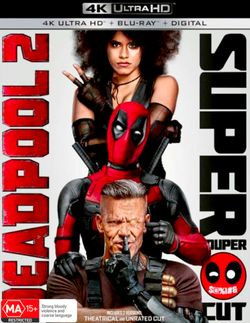 Deadpool 2 (Super Duper Cut) (4K UHD/Blu-ray/Digital)