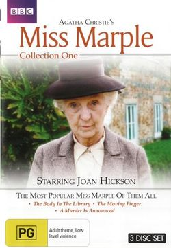 Agatha Christie: Miss Marple - Collection 1 (The Body in the Library / The Moving Finger / A Murder is Announced)